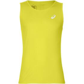 asics Silver - Camiseta sin mangas running Hombre - amarillo